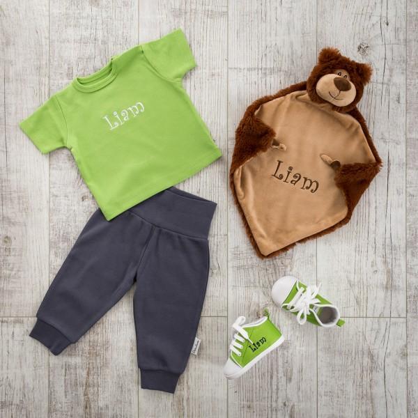 T-Shirt Set mit Schmusetuch