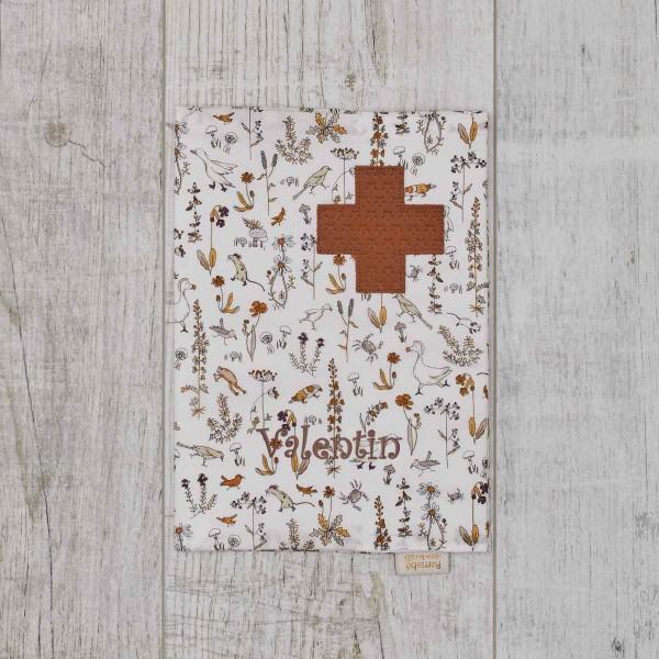Protège carnet de santé Liberty Camille