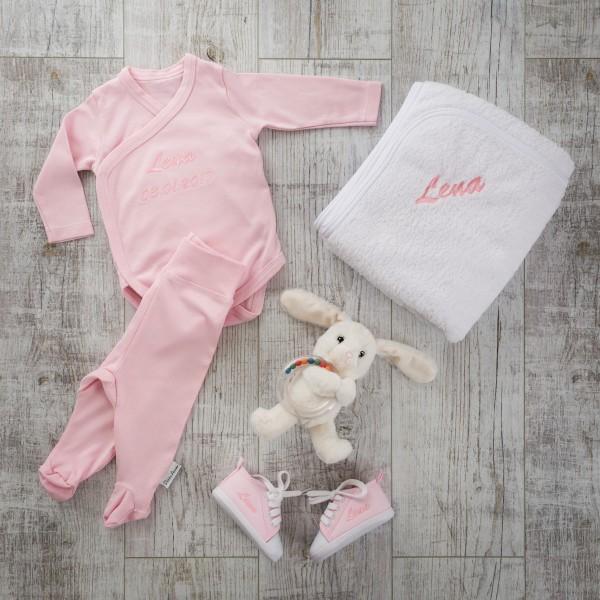 5-teiliges Babyset - Rosa