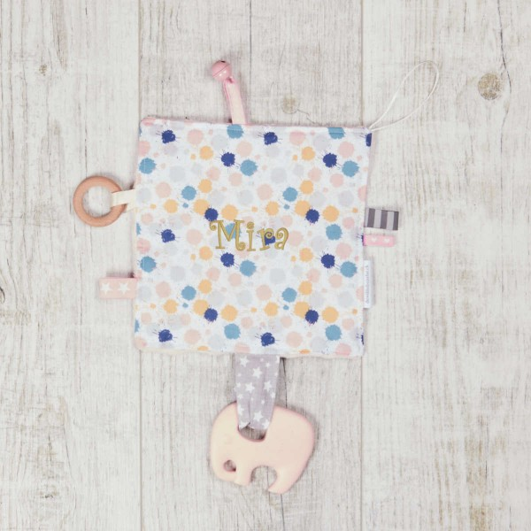papier froissé bébé | Taches de couleurs
