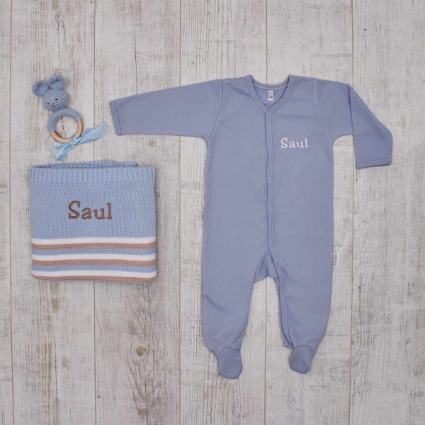 Essentials Babyset - Authentic pieces, blue