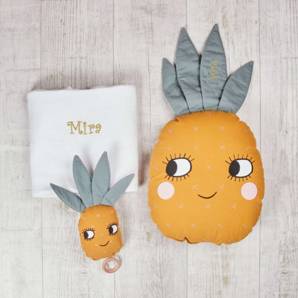 Pineapple set for baby bedroom