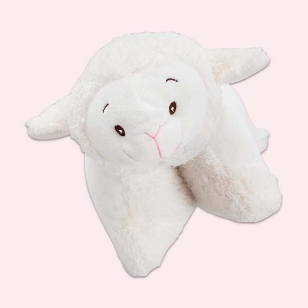 Coussin en peluche, Mouton