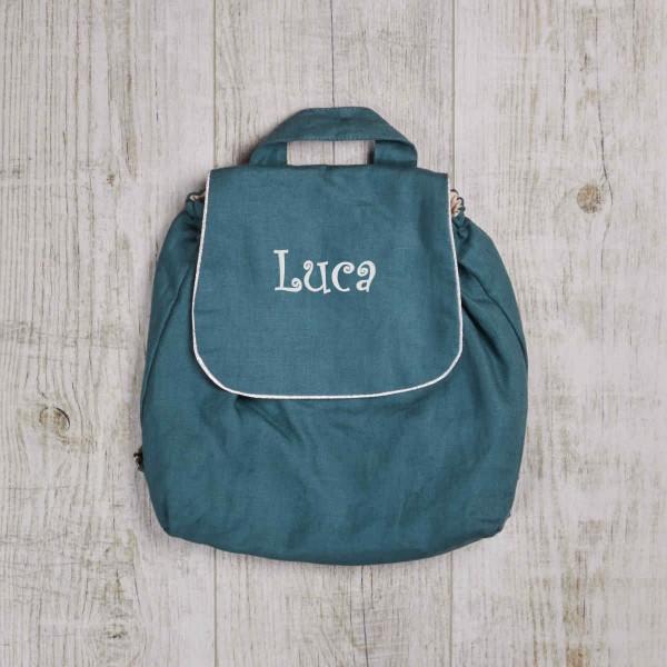 Children Backpack, dark turquoise