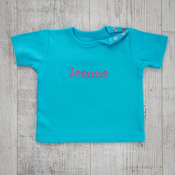 Baby T-shirt, Türkis