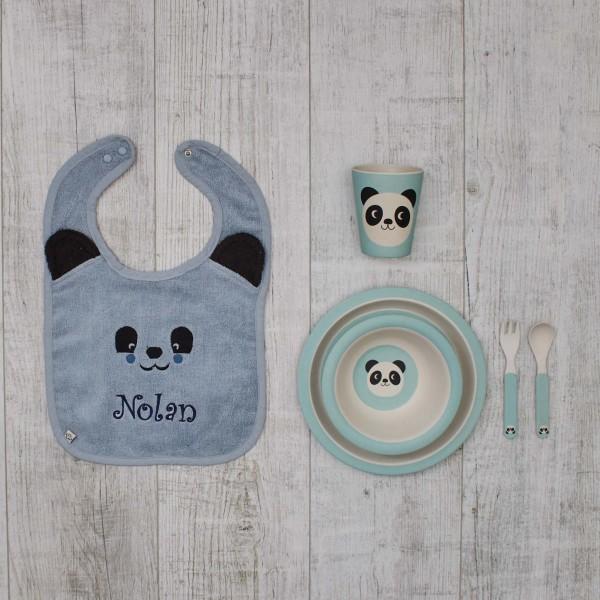 """Coffret """"manger en s'amusant"""", Panda"""