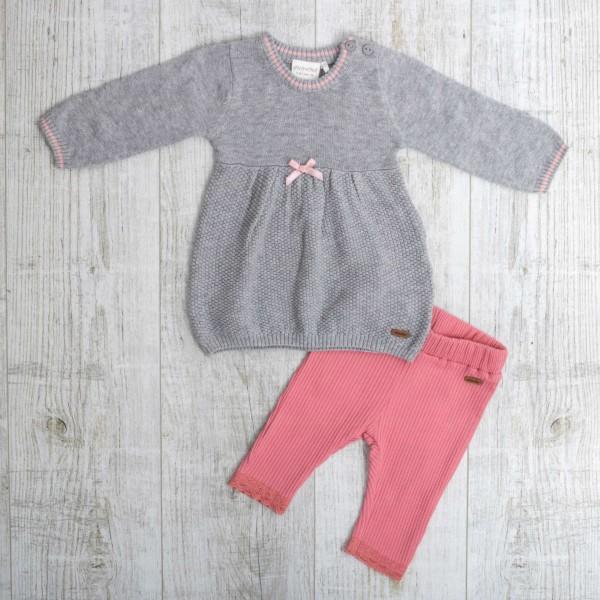 Ensemble robe en tricot