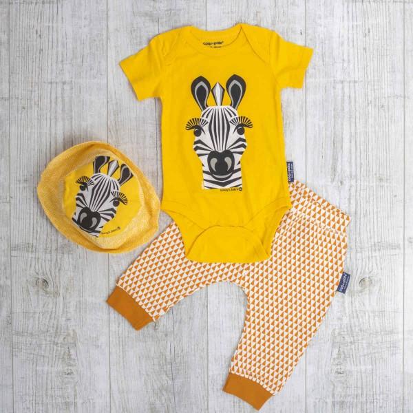 Kurzarm Body Set, Zebra