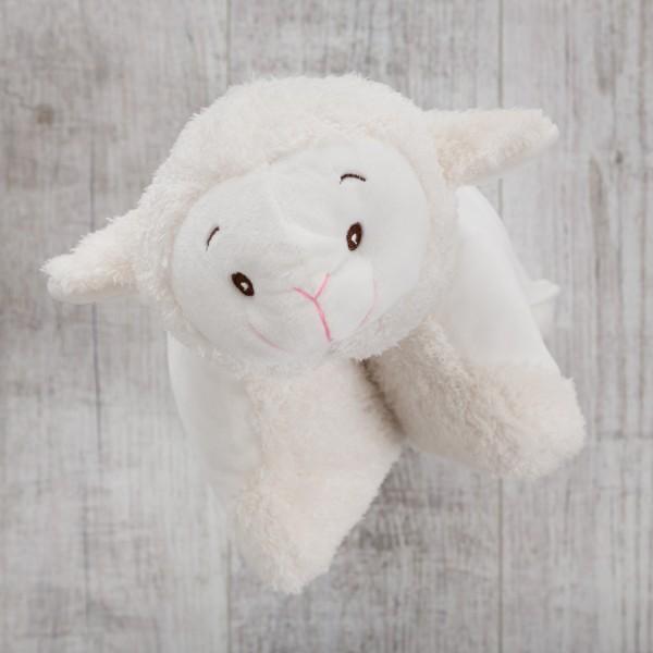 Plüschkissen, 30 cm, Schaf