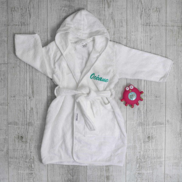 Hooded towel & Thermometer