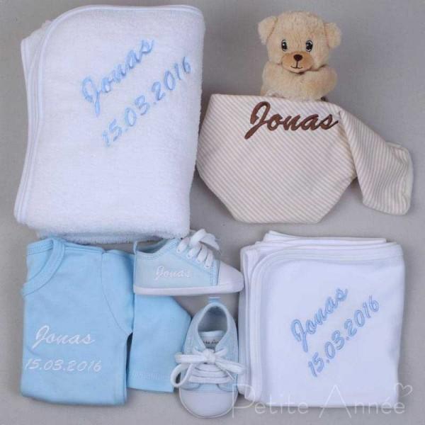 5-teiliges Deluxe-Geschenkset - Bär & Blau