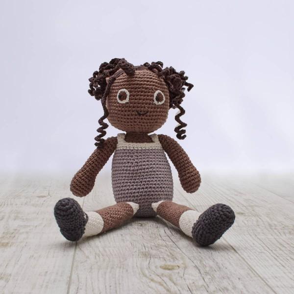 Crochet doll, Poppy