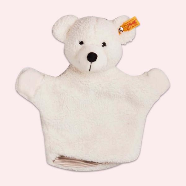 Hand puppet Lotte, creme