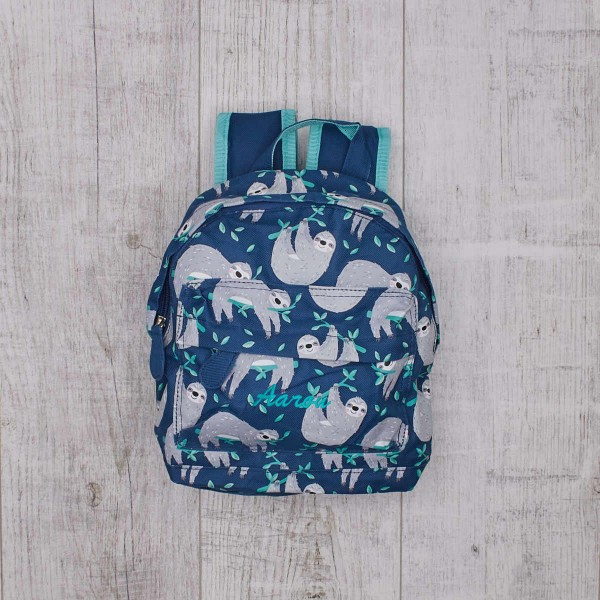 Sydney The Sloth Mini Backpack