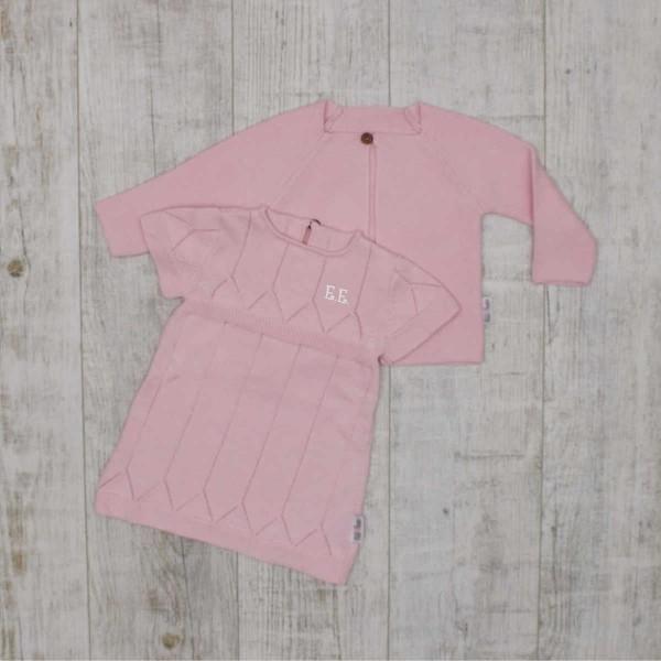 """Coffret tricot """"Basiques - Must have"""" pour bébé, rose"""