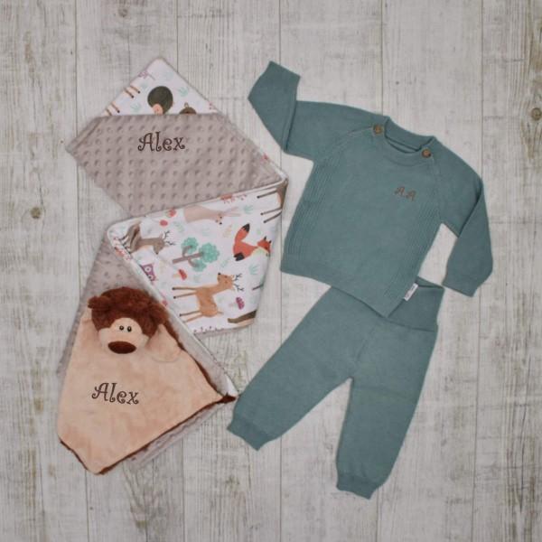 "Baby-Set""Essentials"", Wald, Mint"