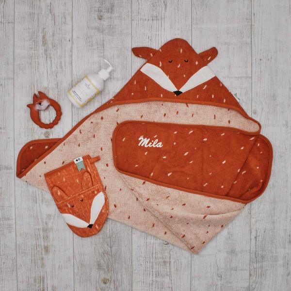 Baby bath giftset, Mr. Fox