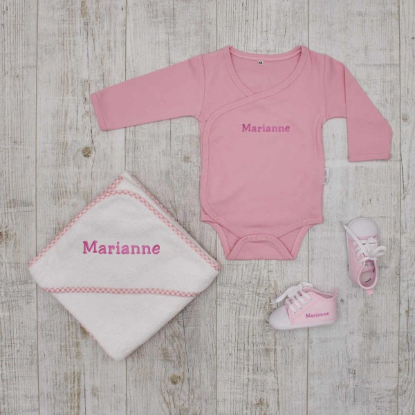 Essentials Babyset - Changing time, pink