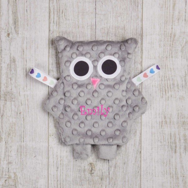 Crinkle Cloth, owl grey