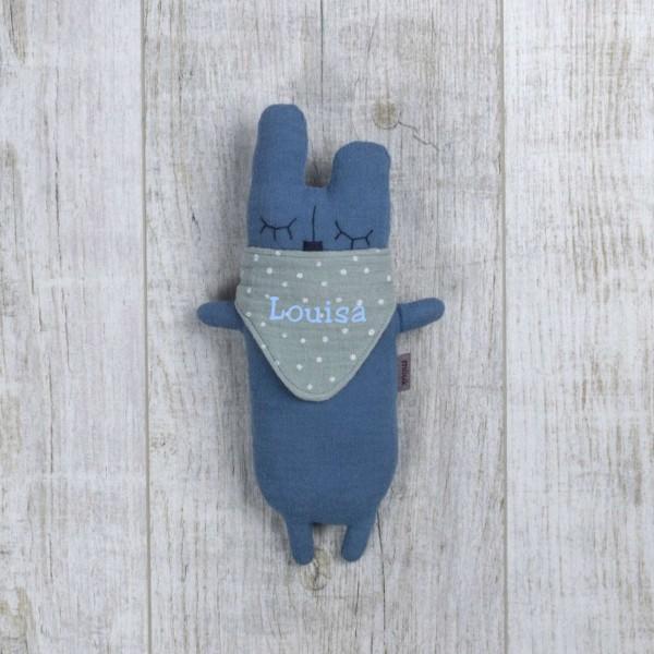 Kuschelfreund Hase, Himmelblau
