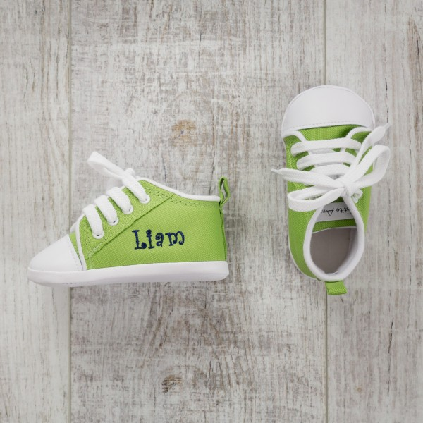 Baby shoes, Green