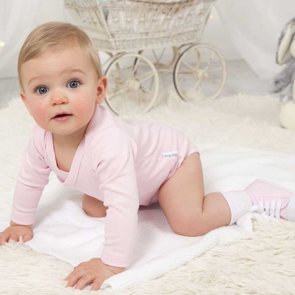 Body & Babyschuhe Set - Rosa