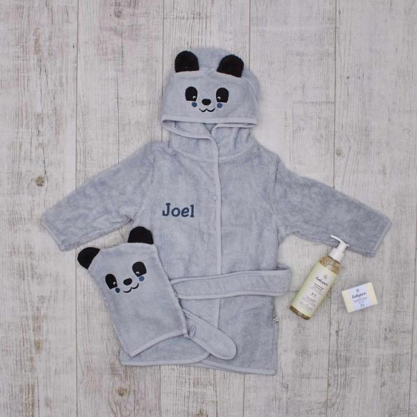 MeinPflege-Set, Bio, Panda Hellblau