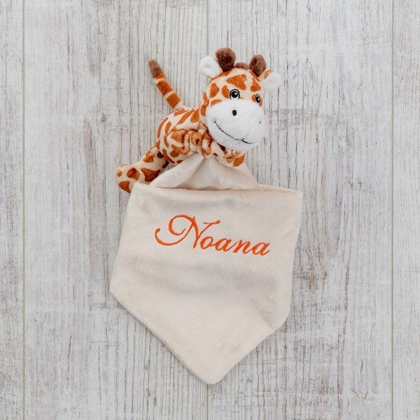 Schmusetuch, Giraffe