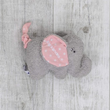 Music box Elephant, pink