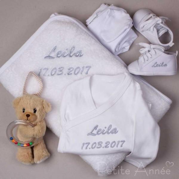 5-teiliges Babyset - Weiss