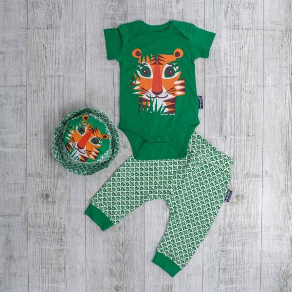 Kurzarm Body Set, Tiger