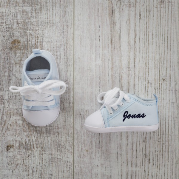 Baby shoes, Blue