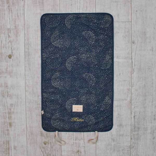 Nomad changing pad 'Bubbles', dark blue, Nobodinoz