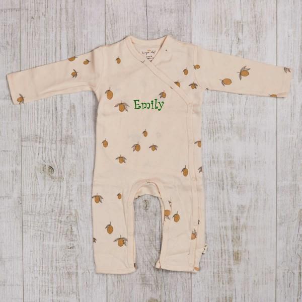 Pyjama bébé - Citron