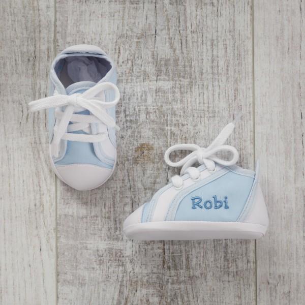 Babyturnschuhe - Blau