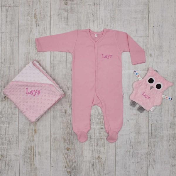 Essentials Babyset - the softest pieces, pink
