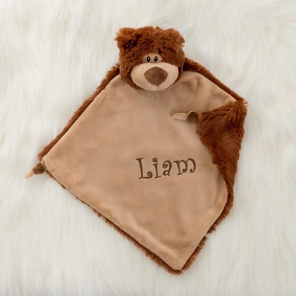 Personalisiertes Schmusetuch Teddybär