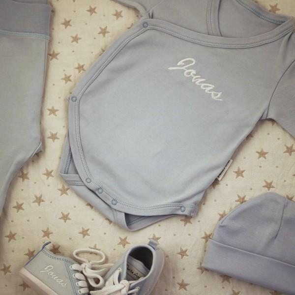 Kleidung & Babyschuhe Set - Blau
