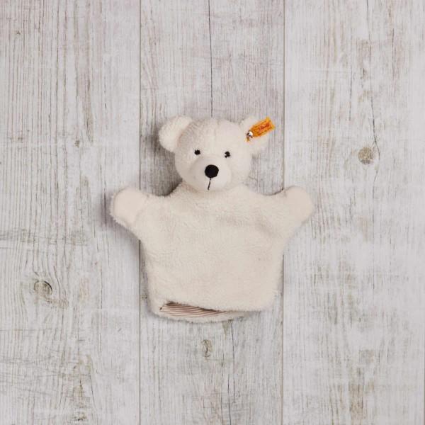 Handpuppe Lotte Teddy, Cremeweiss