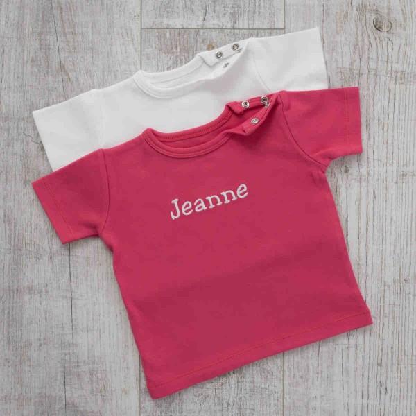 T-Shirt Duo, Fuchsia