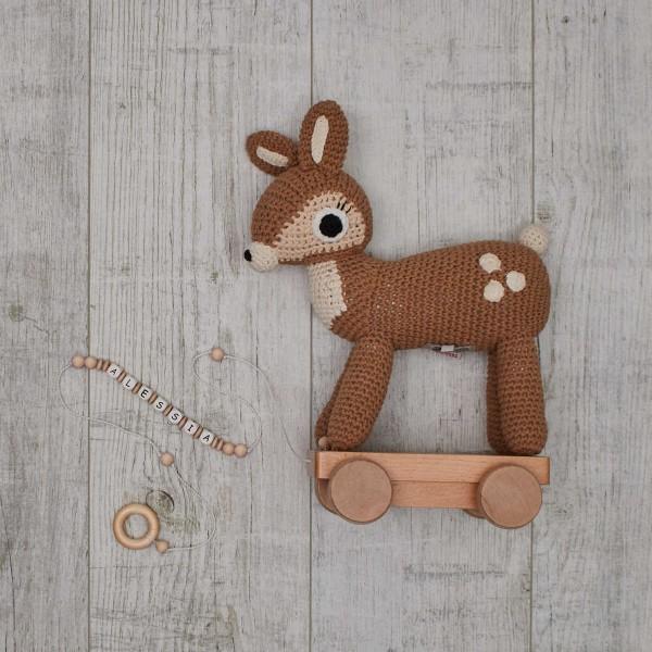 Crochet - Pull-Along Animal, Deer