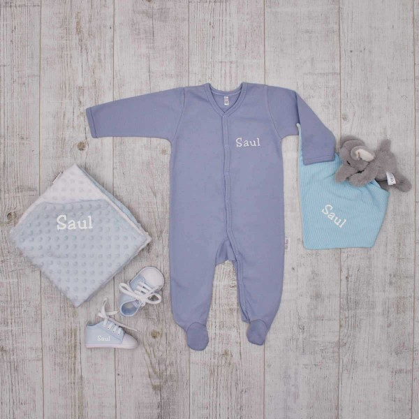 Complet Babyset - sleep tight, blue