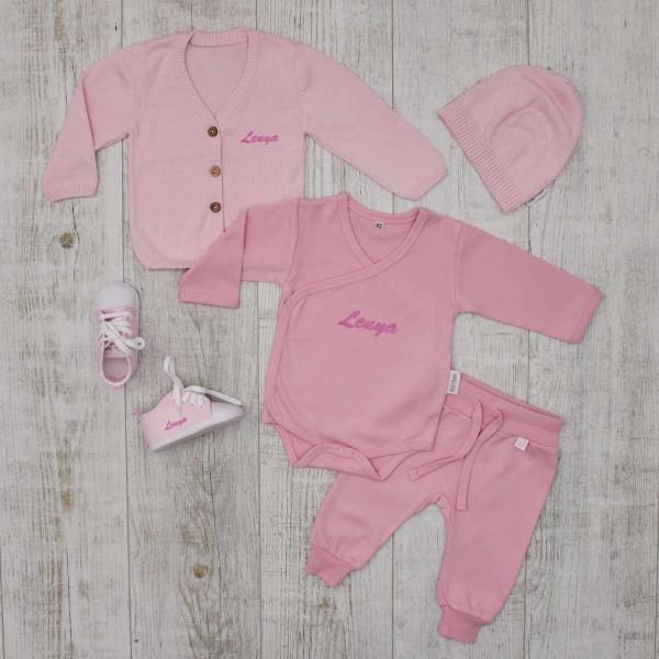 """Babykleidungs-Set""""Essentials"""", Rosa"""
