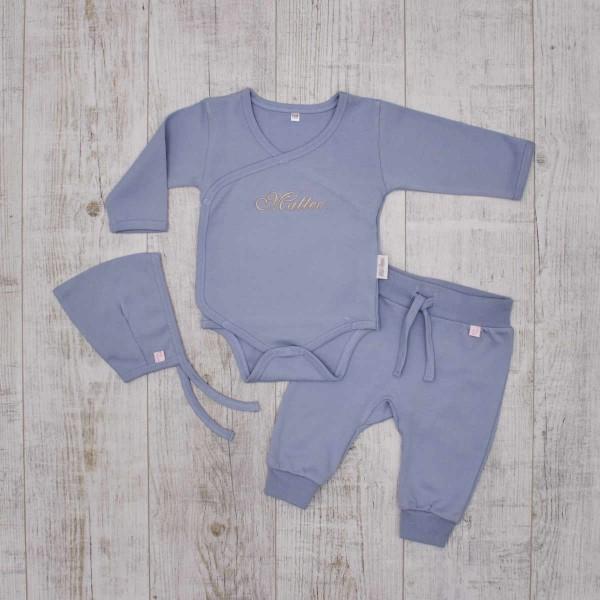 Basics Babyset - Perfect blue set